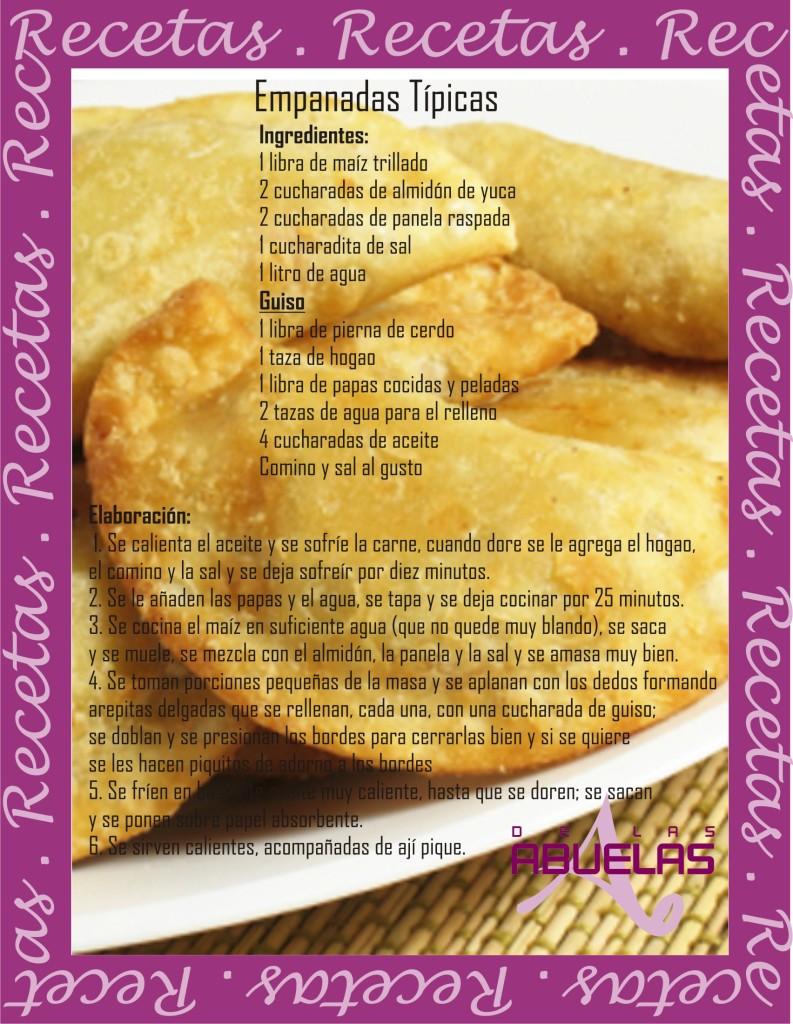 Receta 7 Empanadas