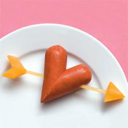 corazon de salchicha